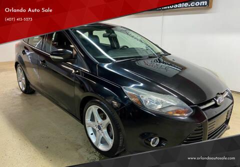 2014 Ford Focus for sale at Orlando Auto Sale in Orlando FL