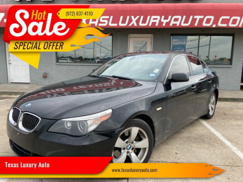 2006 BMW 5 Series for sale at Texas Luxury Auto in Cedar Hill TX