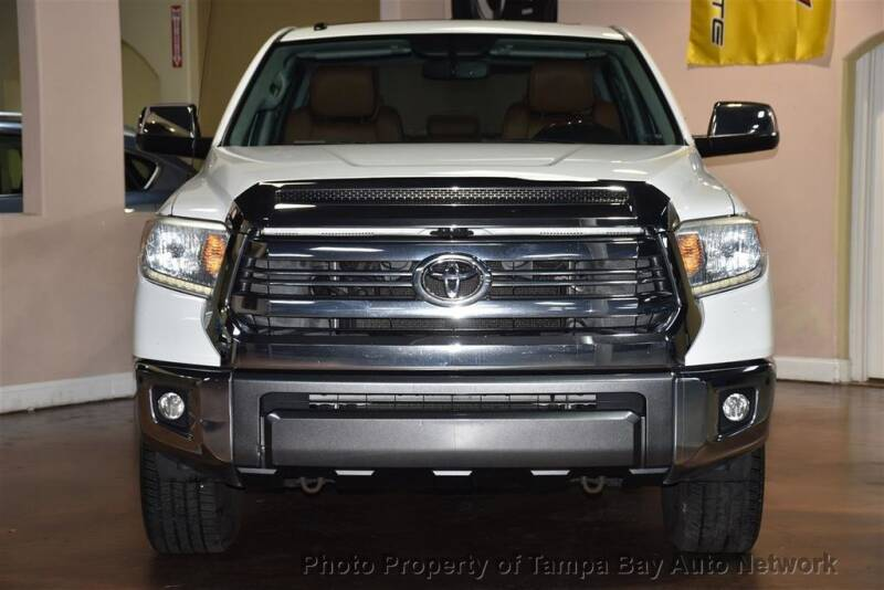 2016 Toyota Tundra for sale at Tampa Bay AutoNetwork in Tampa FL