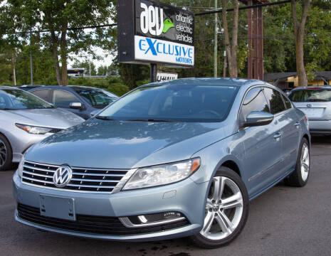 2013 Volkswagen CC for sale at EXCLUSIVE MOTORS in Virginia Beach VA