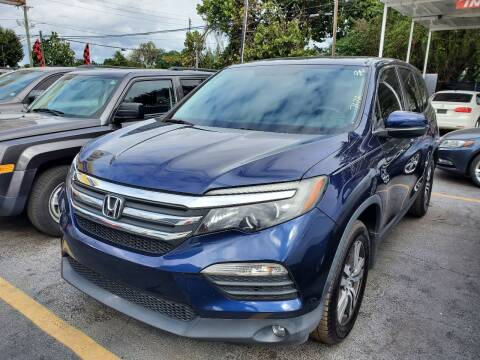 2016 Honda Pilot for sale at America Auto Wholesale Inc in Miami FL