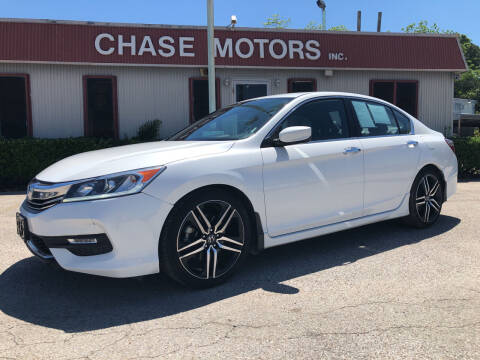 2017 Honda Accord for sale at Chase Motors Inc in Stafford TX