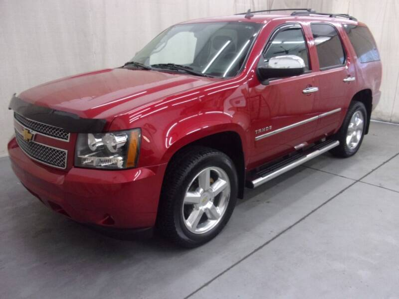2014 Chevrolet Tahoe for sale at Paquet Auto Sales in Madison OH