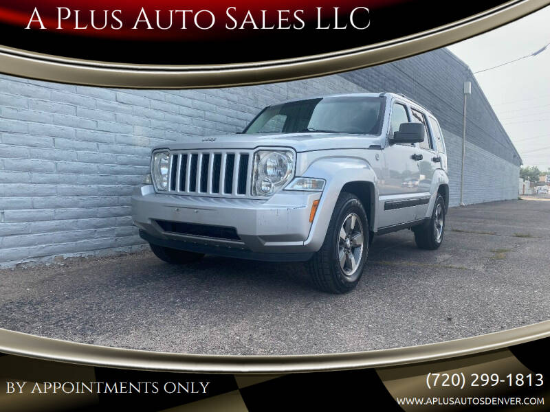2008 Jeep Liberty for sale at A Plus Auto Sales LLC in Denver CO