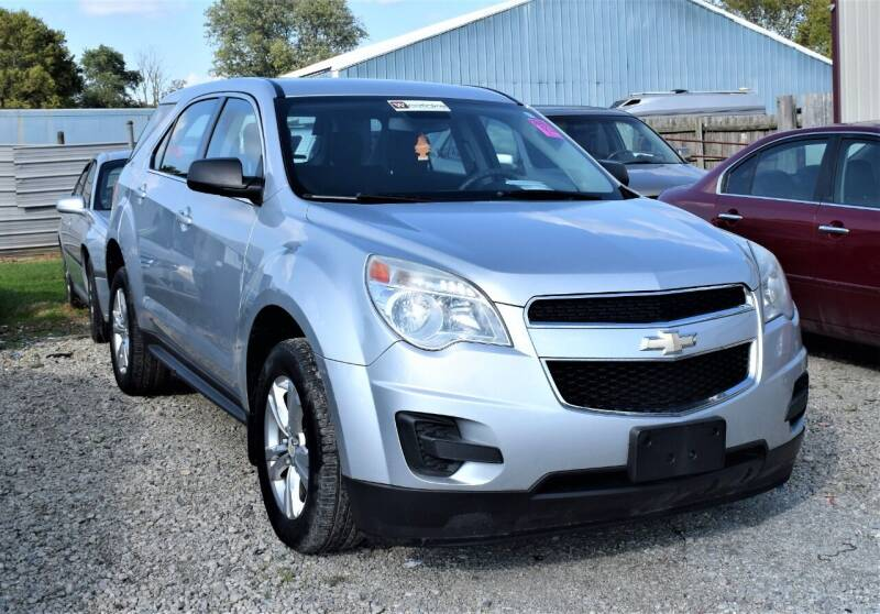 2013 Chevrolet Equinox for sale at PINNACLE ROAD AUTOMOTIVE LLC in Moraine OH