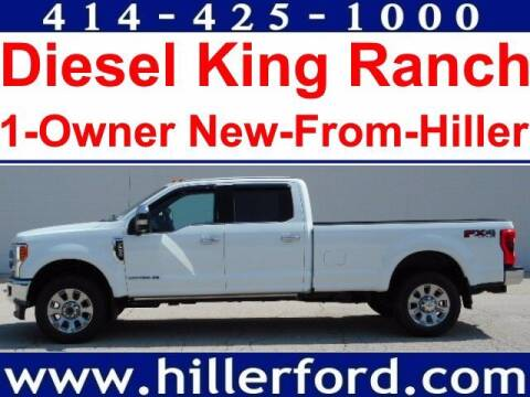2017 Ford F-250 Super Duty for sale at HILLER FORD INC in Franklin WI