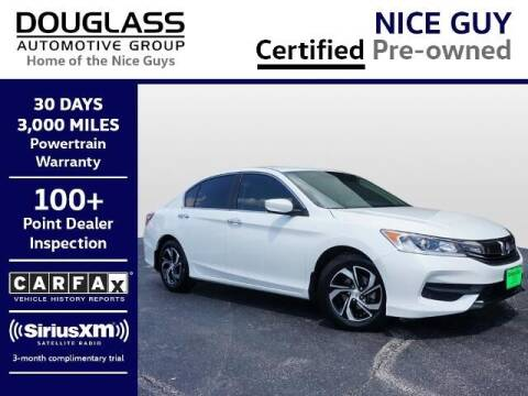 2017 Honda Accord for sale at Douglass Automotive Group - Douglas Volkswagen in Bryan TX