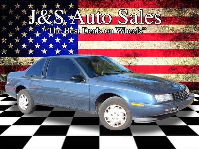1995 Chevrolet Beretta for sale at J & S Auto Sales in Clarksville TN