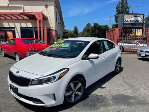 2018 Kia Forte for sale at AUTOMEX in Sacramento CA
