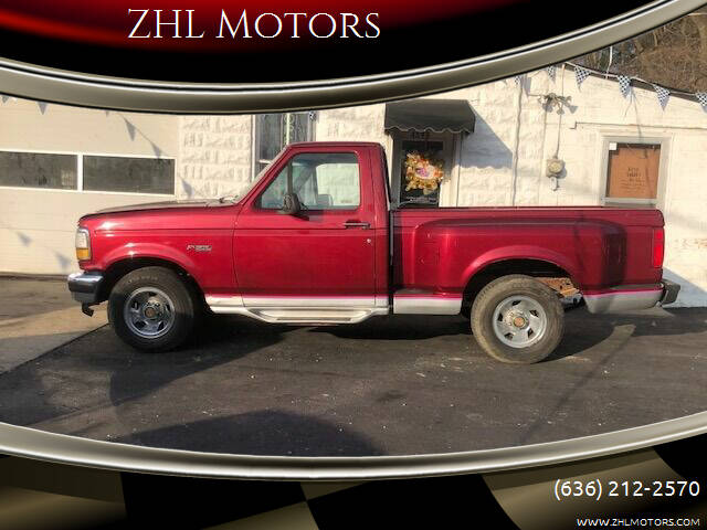 1992 Ford F-150 for sale at ZHL Motors in House Springs MO