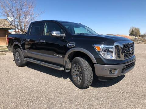 2017 Nissan Titan for sale at 5 Star Truck and Auto in Idaho Falls ID