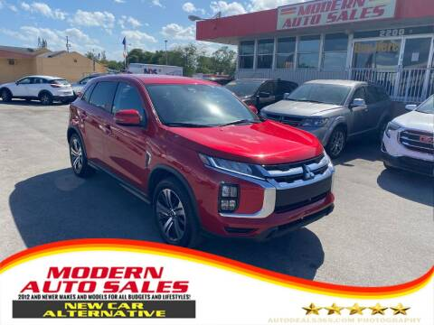 2020 Mitsubishi Outlander Sport for sale at Modern Auto Sales in Hollywood FL