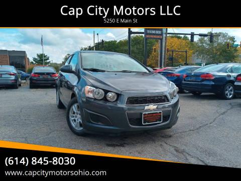 2012 Chevrolet Sonic for sale at Cap City Motors LLC in Columbus OH