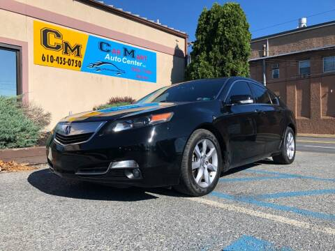 2012 Acura TL for sale at Car Mart Auto Center II, LLC in Allentown PA