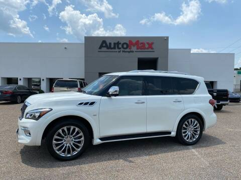 2016 Infiniti QX80 for sale at AutoMax of Memphis in Memphis TN