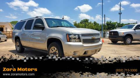 2008 Chevrolet Suburban for sale at Zora Motors in Houston TX