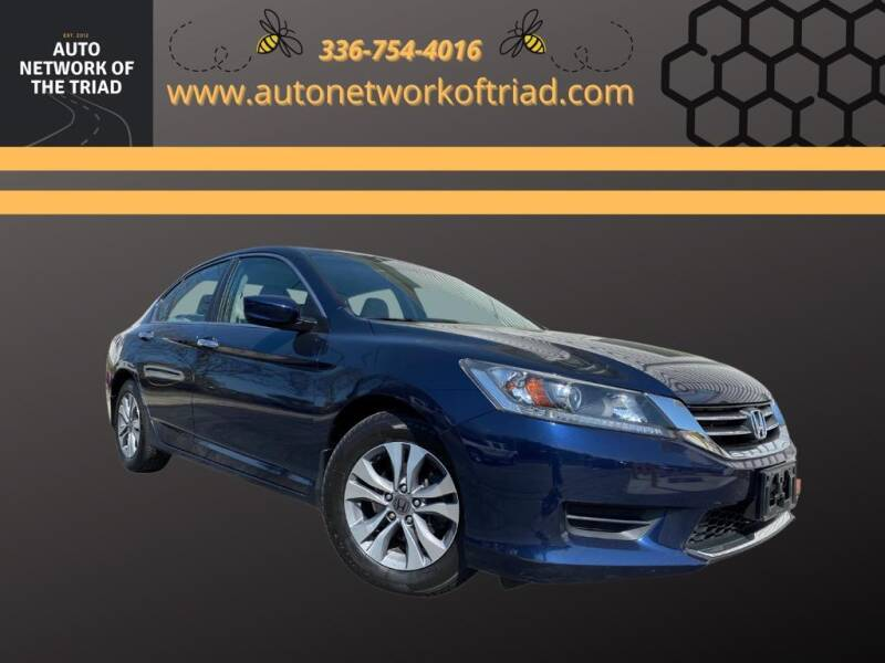 2015 Honda Accord for sale at Auto Network of the Triad in Walkertown NC