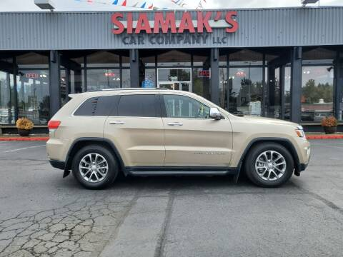 2014 Jeep Grand Cherokee for sale at Siamak's Car Company llc in Salem OR