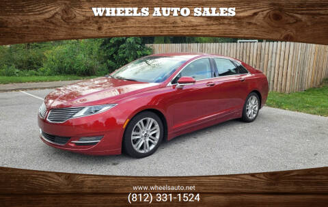 2016 Lincoln MKZ Hybrid for sale at Wheels Auto Sales in Bloomington IN