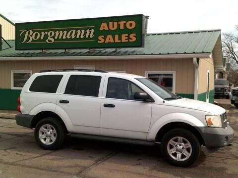 2007 Dodge Durango for sale at Borgmann Auto Sales in Norfolk NE