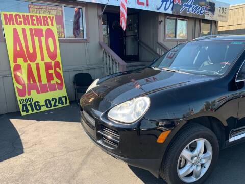 2004 Porsche Cayenne for sale at McHenry Auto Sales in Modesto CA