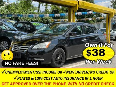 2015 Nissan Sentra for sale at AUTOFYND in Elmont NY