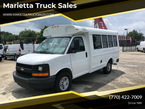 2006 Chevrolet Express Cutaway for sale at Marietta Truck Sales in Marietta GA