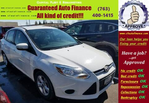 2014 Ford Focus for sale at Capital Fleet  & Remarketing  Auto Finance in Columbia Heights MN