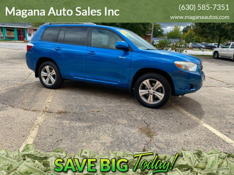 2008 Toyota Highlander for sale at Magana Auto Sales Inc in Aurora IL