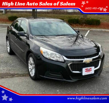 2014 Chevrolet Malibu for sale at High Line Auto Sales of Salem in Salem NH