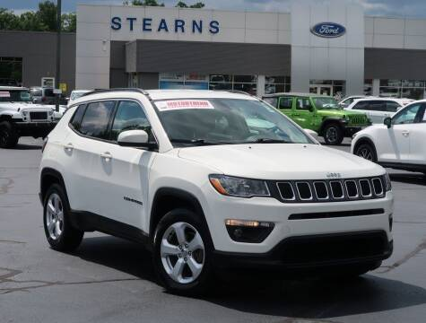 2017 Jeep Compass for sale at Stearns Ford in Burlington NC