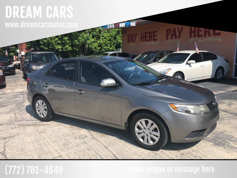 2010 Kia Forte for sale at DREAM CARS in Stuart FL