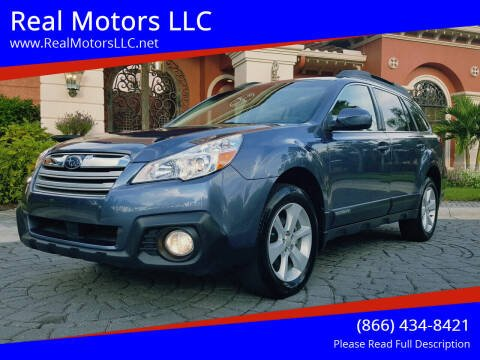 2014 Subaru Outback for sale at Real Motors LLC in Clearwater FL
