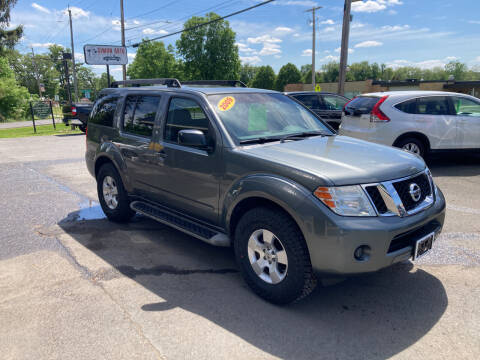 2009 Nissan Pathfinder for sale at JERRY SIMON AUTO SALES in Cambridge NY