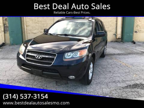 2007 Hyundai Santa Fe for sale at Best Deal Auto Sales in Saint Charles MO