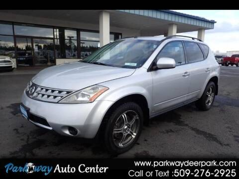 2007 Nissan Murano for sale at PARKWAY AUTO CENTER AND RV in Deer Park WA