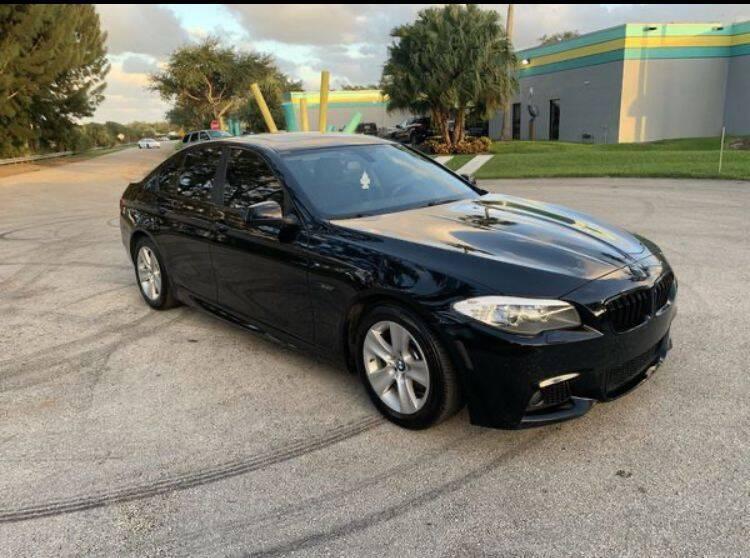 2013 BMW 5 Series for sale at Zak Motor Group in Deerfield Beach FL