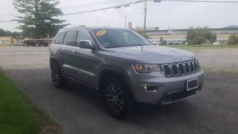 2017 Jeep Grand Cherokee for sale at JERRY SIMON AUTO SALES in Cambridge NY