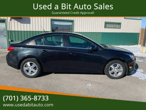 2011 Chevrolet Cruze for sale at Used a Bit Auto Sales in Fargo ND