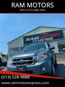 2010 Ford Escape for sale at RAM MOTORS in Cincinnati OH