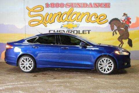 2014 Ford Fusion for sale at Sundance Chevrolet in Grand Ledge MI