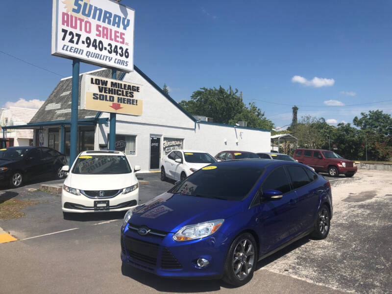 2014 Ford Focus for sale at Sunray Auto Sales Inc. in Holiday FL