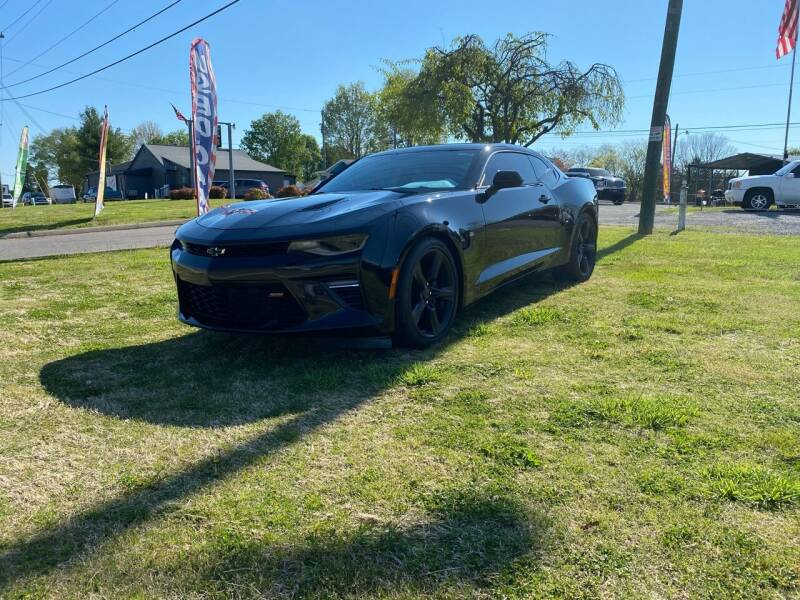 2016 Chevrolet Camaro for sale at Unique Auto Sales in Knoxville TN