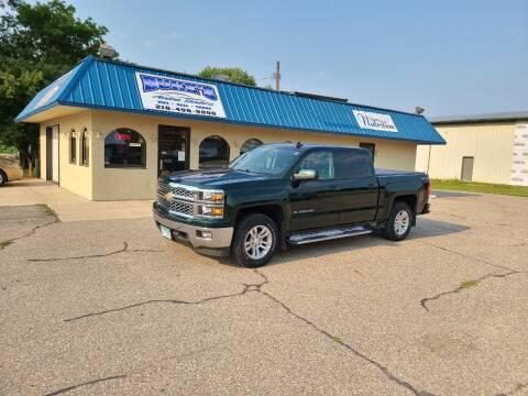 2015 Chevrolet Silverado 1500 for sale at Dukes Auto Sales in Glyndon MN