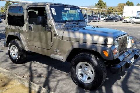 2006 Jeep Wrangler for sale at Arizona Specialty Motors in Tempe AZ