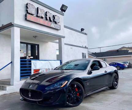 2012 Maserati GranTurismo for sale at Fastrack Auto Inc in Rosemead CA