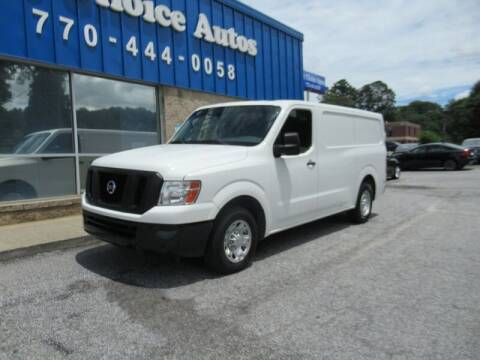 2013 Nissan NV Cargo for sale at Southern Auto Solutions - 1st Choice Autos in Marietta GA