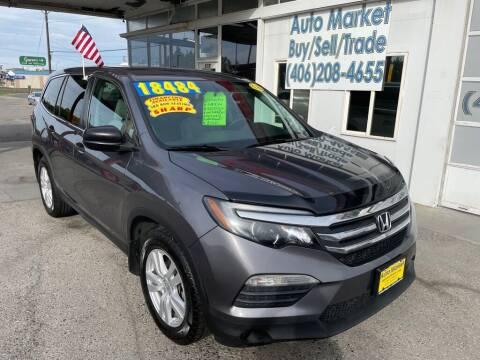 2016 Honda Pilot for sale at Auto Market in Billings MT