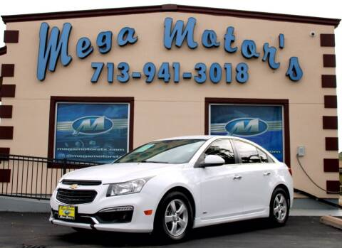 2016 Chevrolet Cruze Limited for sale at MEGA MOTORS in South Houston TX
