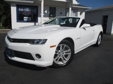2015 Chevrolet Camaro for sale at Blue Arrow Motors in Coal City IL